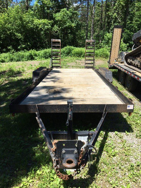 FOR SALE: 2008 Cam Equipment Trailer – Superline 20′ 7000#